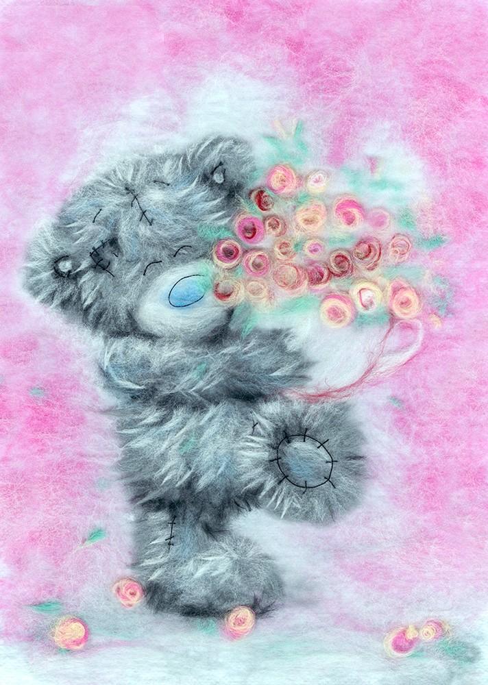 Красивые картинки с медведями тедди, поздравлением дедушке рождением